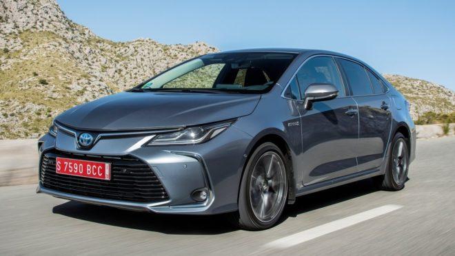 A nova geração do Corolla no Brasil terá o mesmo visual da versão europeia. Foto: Toyota/ Divulgação