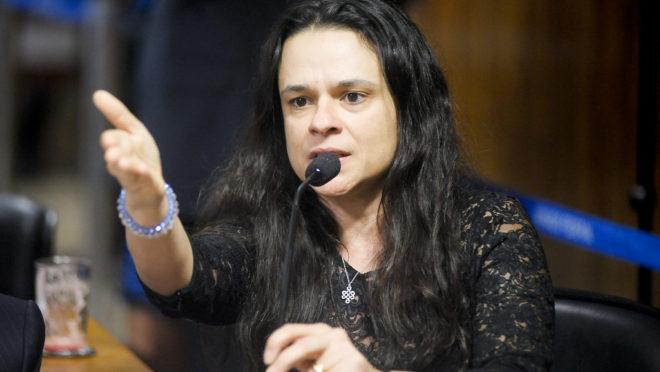A deputada estadual do PSL em São Paulo, Janaina Paschoal. Foto: Pedro França / Agência Senado