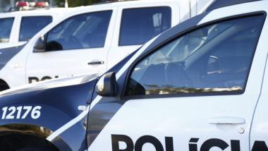 Viatura da polícia civil do Paraná