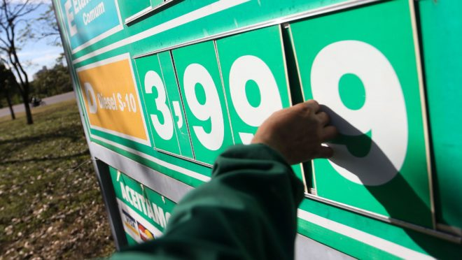 Reajuste no diesel: Petrobras