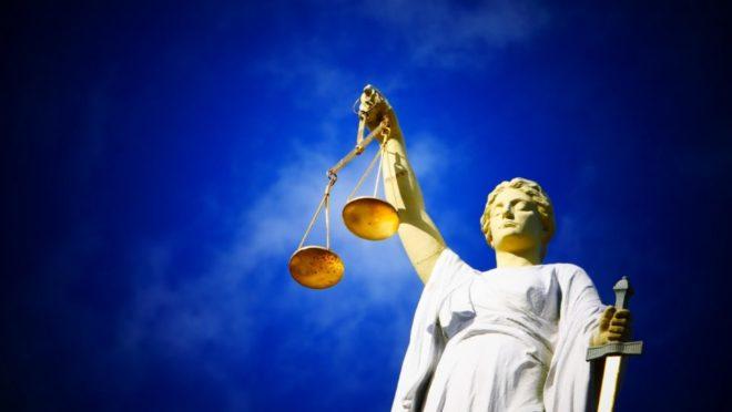 A deusa da Justiça. Foto; Pixabay