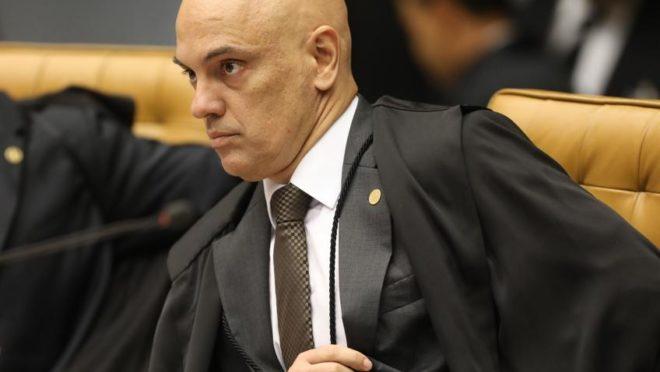 O ministro Alexandre de Moraes, do Supremo Tribunal Federal (STF). Foto: Victoria Silva/AFP