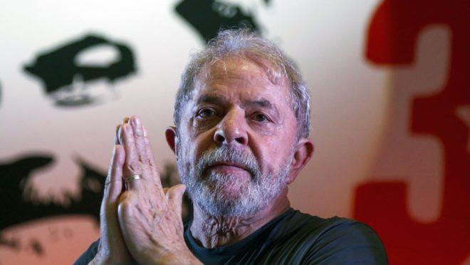 O ex-presidente Lula, do PT. Foto: Miguel Schincariol/AFP