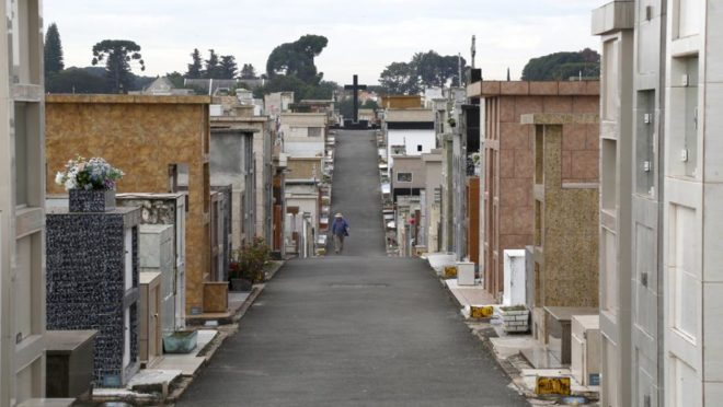Túmulos do Cemitério do Boqueirão