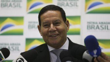 O vice-presidente da República, Hamilton Mourão. Foto: Valter Campanato/Agência Brasil
