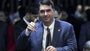 O senador Flavio Bolsonaro. Foto: Marcos Oliveira/Agência Senado
