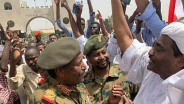 Abdel Fattah al-Burhan, o novo chefe do conselho militar assumindo no Sudão após a queda do presidente Omar al-Burhan.