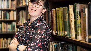 Foto recente da jornalista e escritora Lyra Mckee, morta durante conflitos no bairro de Cregga, em Londonderry, Irlanda do Norte. A polícia considera o caso como atentado terrorista. Foto distribuída por Polícia da Irlanda do Norte / AFP