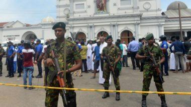 Forças armadas fazem segurança de igreja após atentado ocorrido neste domingo (21) no Sri Lanka.  Foto: Ishara S. Kodikara/AFP.