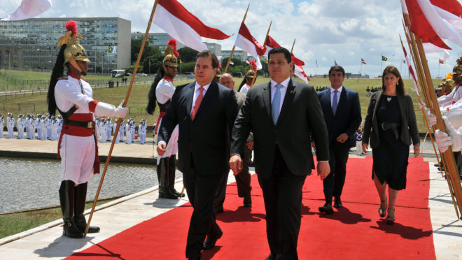 Rodrigo Maia e Davi Alcolumbre, presidentes da Câmara e do Senado. Foto: J. Batista/Agência Câmara