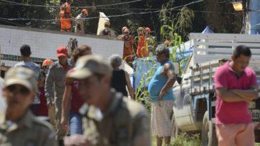 Equipes que atuaram nas buscas em Muzema encerraram os trabalhos.