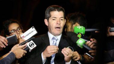 O líder do PSL na Câmara,. Delegado Waldir.