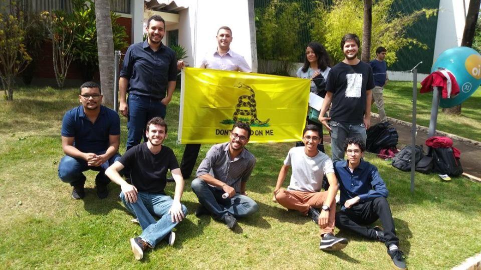 Estudantes da Unifal Livre. Foto: Arquivo pessoal.