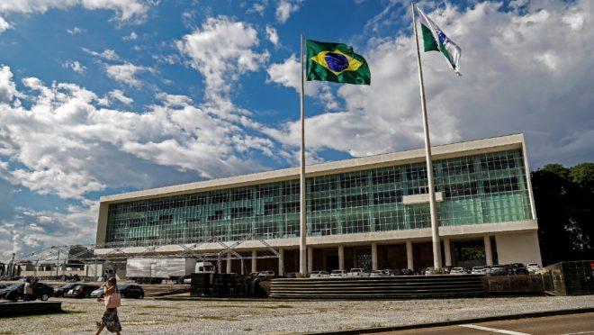 Palácio Iguaçu, sede do governo do Paraná.