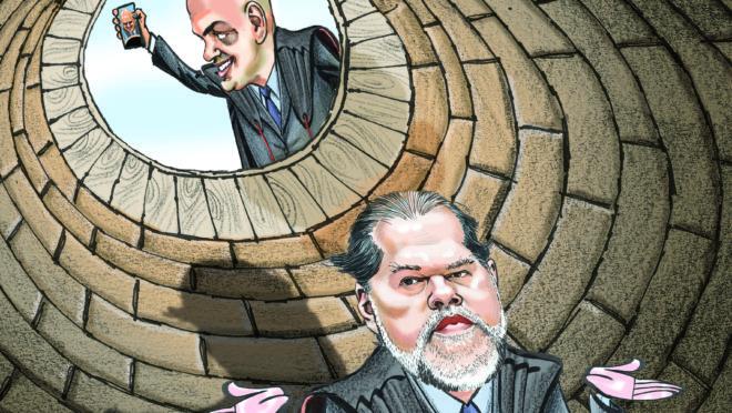 Olavo leva cotovelada de Bolsonaro: esbarrão ou rompimento?