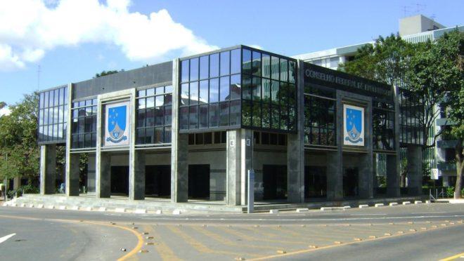 Fachada do Conselho Federal de Enfermagem. Foto: Divulgação.
