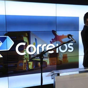 Brasília - O presidente dos Correios, Guilherme Campos, durante anúncio. (Fabio Rodrigues Pozzebom/Agência Brasil)