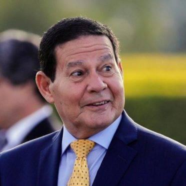 O vice-presidente do Brasil, general Hamilton Mourão. Foto: Sérgio Lima/AFP