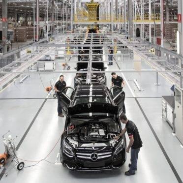 Fábrica da Mercedes-Benz em Iracemápolis (SP). Foto: Mercedes-Benz/ Divulgação