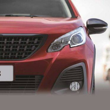 O novo 2008 chega às lojas entre maio e junho. Foto: Peugeot/ Divulgação