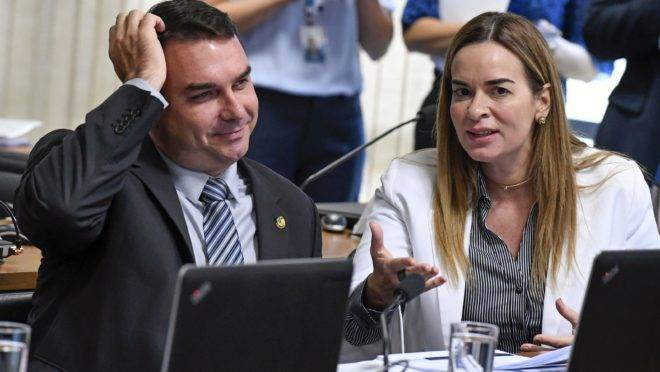 O senador Flávio Bolsonaro (PSL-RJ). Foto: Edilson Rodrigues/Agência Senado
