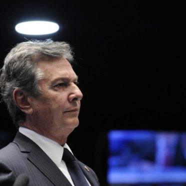 O senador Fernando Collor (PROS), ex-presidente da República. Foto: Edilson Rodrigues/Agência Senado
