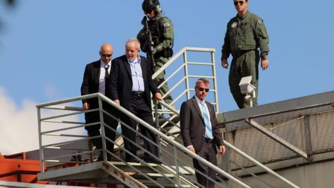 Lula volta para a prisão em Curitiba, carceragem da PF