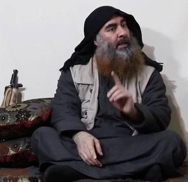 Vídeo sem data mostra o chefe do Estado Islâmico, Abu Bakr al-Baghdadi,  supostamente aparecendo pela primeira vez em cinco anos