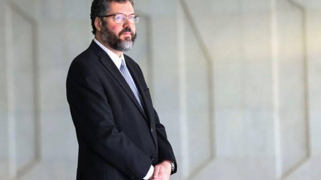 O ministro das Relações Exteriores do Brasil, Ernesto Araujo | Foto: José Cruz/Agência Brasil
