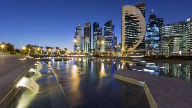 Doha, em Qatar. Imagem: Pixabay.