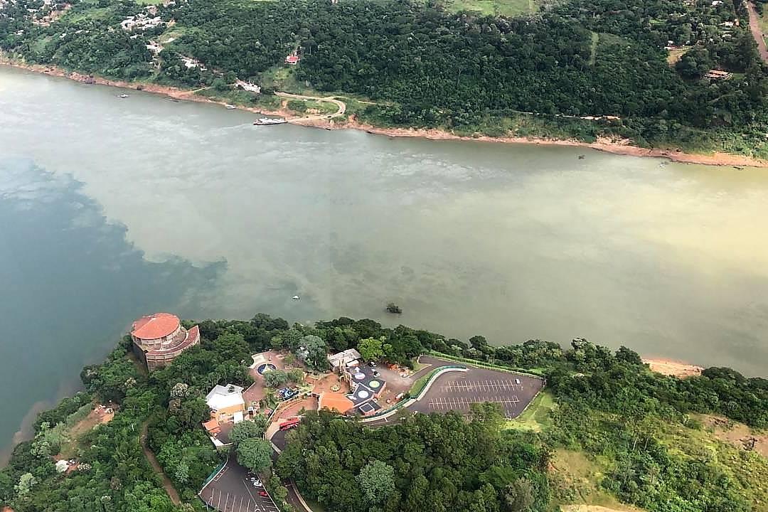 O local onde será construída a segunda ponte entre Brasil e Paraguai. Foto: Ricardo Bezerra/Itaipu Binacional