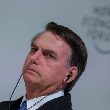 O presidente Jair Bolsonaro durante reunião do Conselho Internacional de Negócios do Fórum Econômico Mundial, em Davos, Suíça, 22/01/2019. (Foto: Alan Santos/PR)