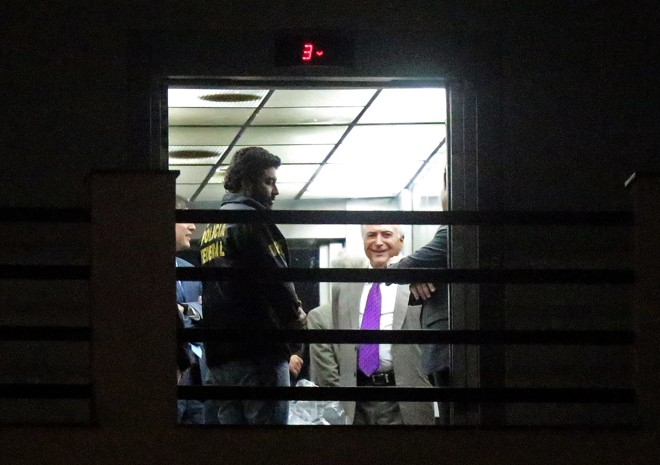 O ex-presidente Michel Temer ganhou um habeas corpus na segunda-feira passada após passar quatro dias na prisão.   Fábio Motta/ Estadão Conteúdo