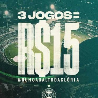 Coritiba lança promoção com ingressos a R$ 5, incluindo clássico com Paraná