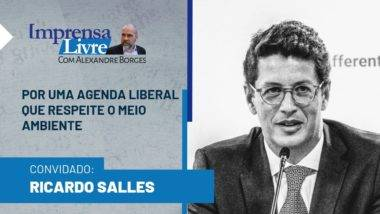 Ministro Ricardo Salles é o entrevistado de Alexandre Borges no Imprensa Livre