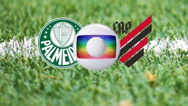 Palmeiras x Athletico terá a transmissão da Globo.