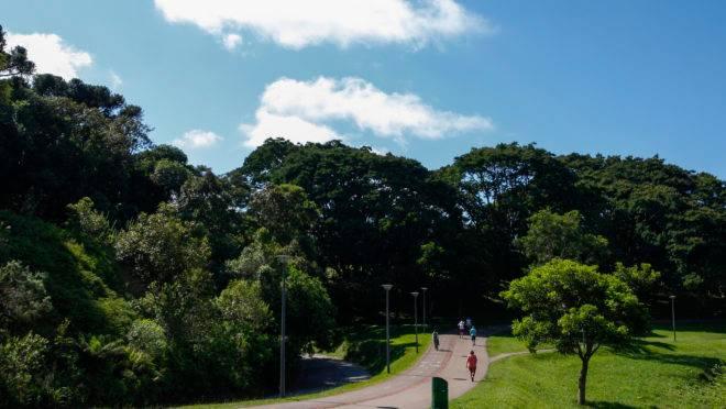 O Parque São Lourenço, em Curitiba