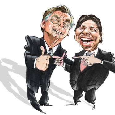 Para Silvio e Bolsonaro, reforma da Previdência é a Porta da Esperança