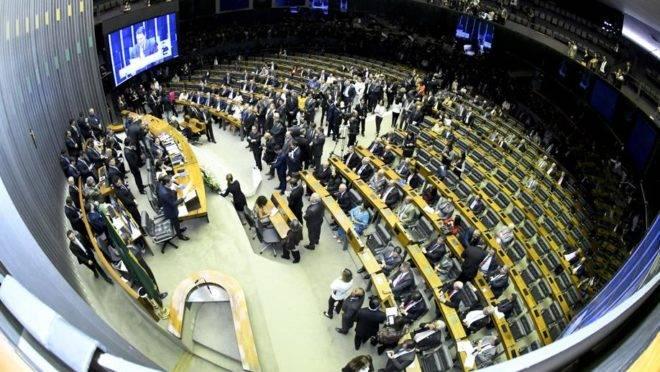 Plenário da Câmara dos Deputados. Foto: Waldemir Barreto/Agência Senado.