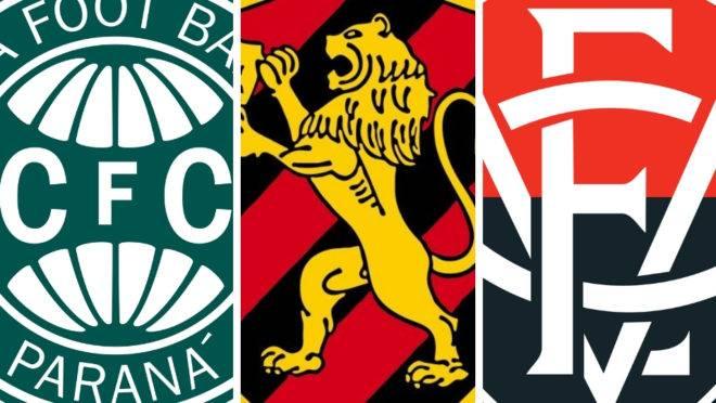 Coritiba, Sport e Vitória jogam Série B de vida ou morte; entenda o risco
