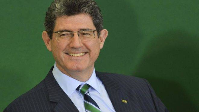 O presidente do BNDES, Joaquim Levy. Foto: Marcelo Camargo/Agência Brasil
