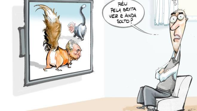 Bolsonaro, Carlos, Olavo, os militares e essa página que nunca vira