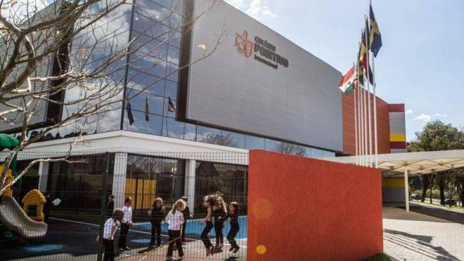 Colégio Positivo, em Curitiba