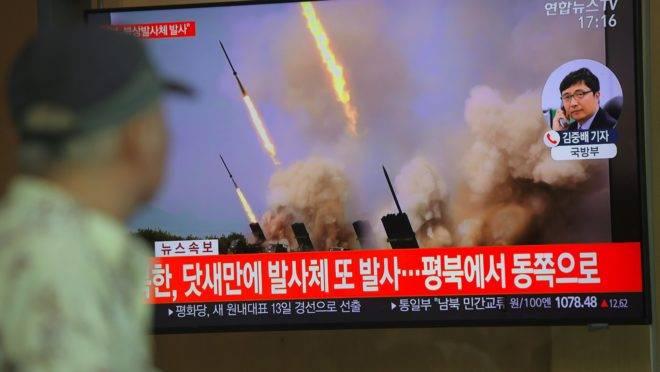 Coreia do Norte lança mais um projétil