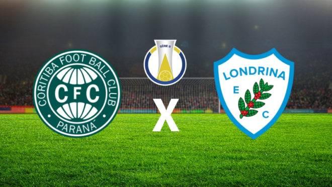 Coritiba x Londrina: tudo sobre o jogo.