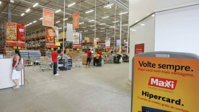 Loja Maxxi Atacado em Itajaí.  Foto de Arquivo