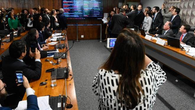 Comissão Mista da Medida Provisória (CMMPV) nº 870/2019 decidiu que o Coaf fará parte da estrutura do Ministério da Economia. (Foto: Marcos Oliveira/Agência Senado)