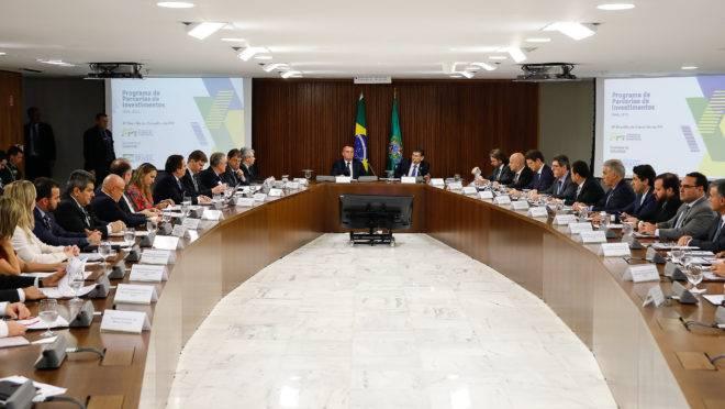 Reunião do Conselho do Programa de Parcerias de Investimentos. Foto: Carolina Antunes/PR