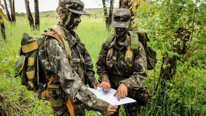Exército na Amazônia