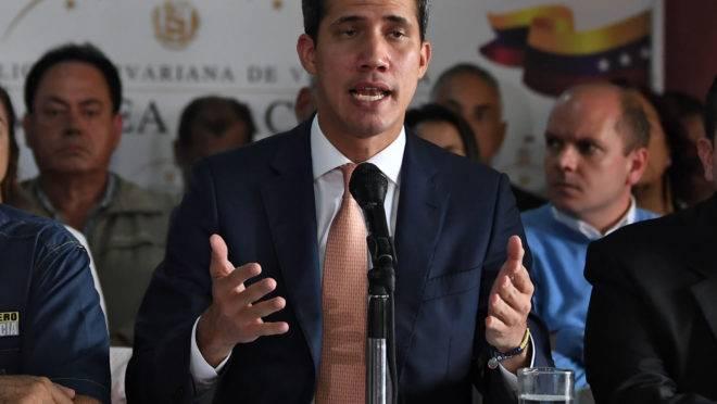 Juan Guaidó, presidente interino da Venezuela.